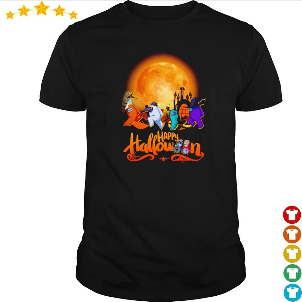 Among us happy Halloween shirt
