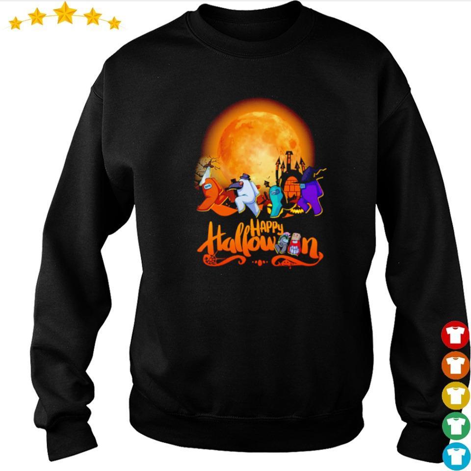 Among us happy Halloween s sweater