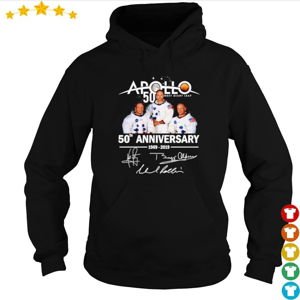 Apollo 11 50th anniversary signatures s hoodie