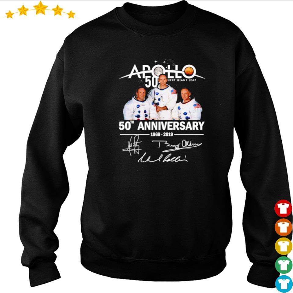 Apollo 11 50th anniversary signatures s sweater