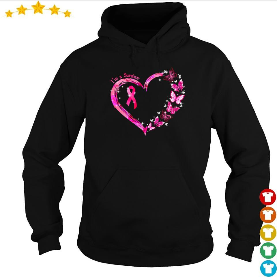 Autism awareness I'm a survivor love s hoodie