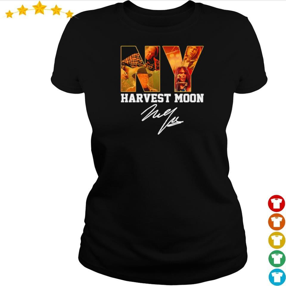 Awesome Harvest Moon signature s ladies tee