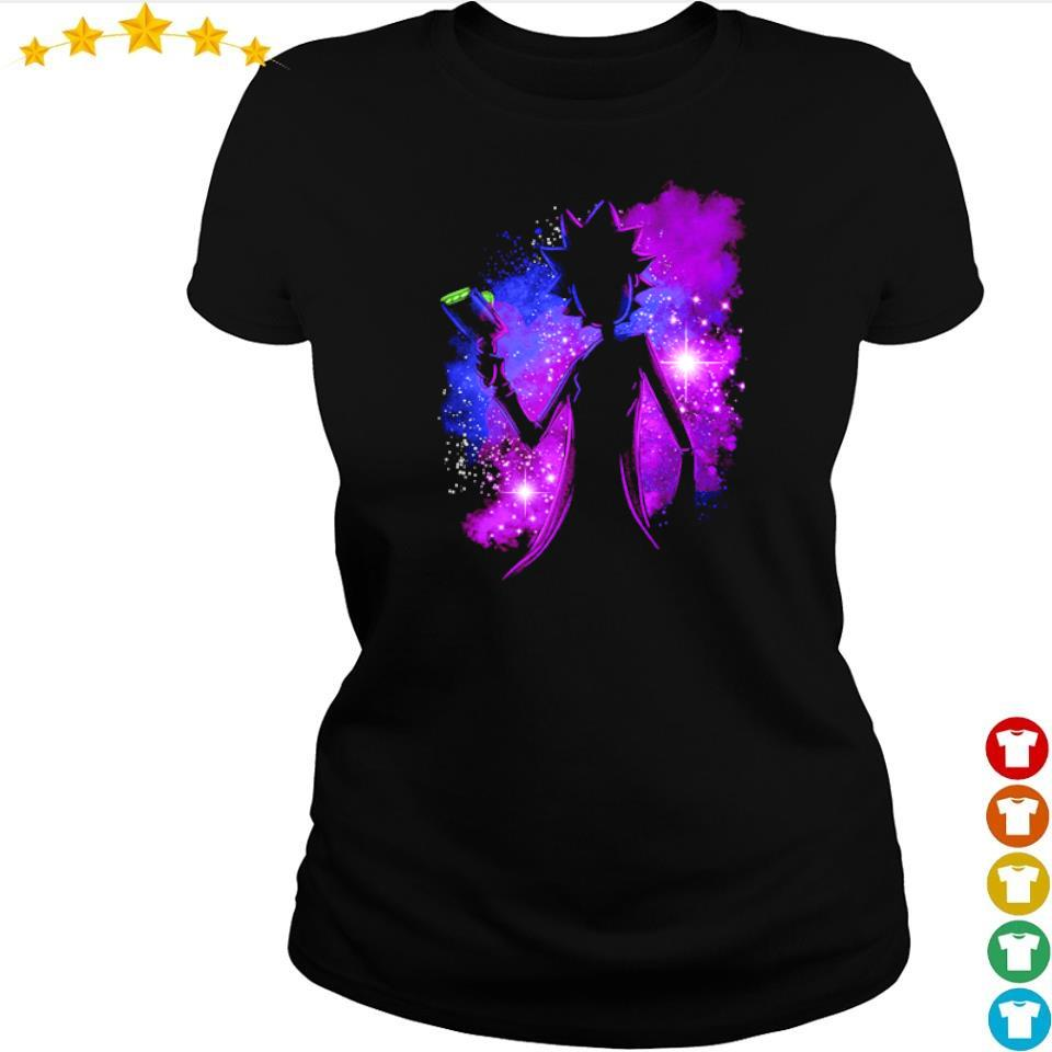 Awesome Rick Sanchez galaxy s ladies tee