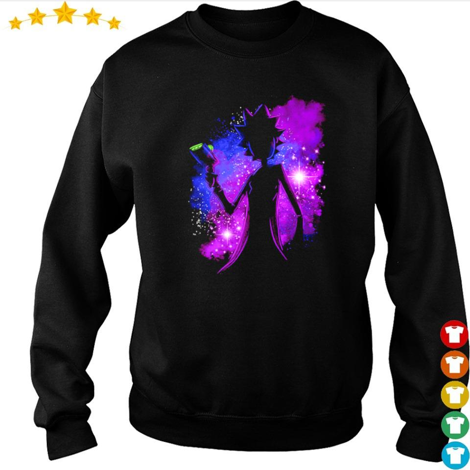 Awesome Rick Sanchez galaxy s sweater