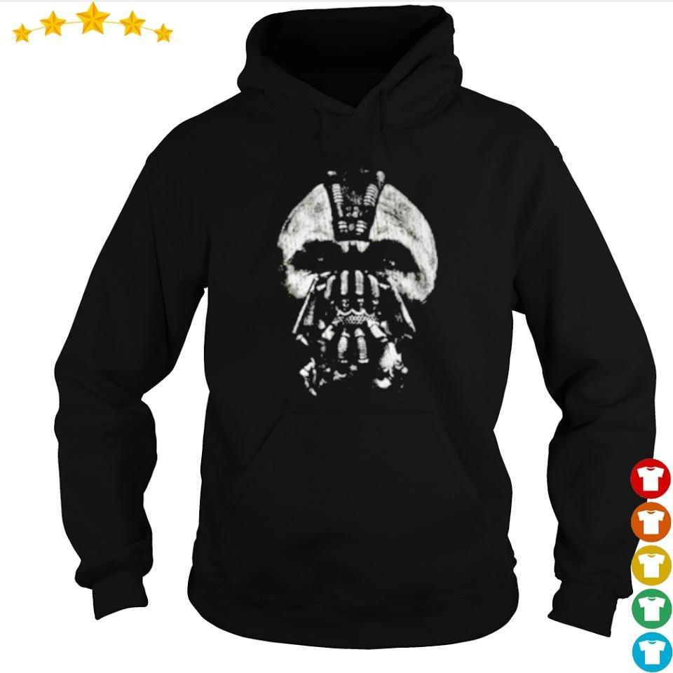 Awesome The Dark Night Bane mask art s hoodie