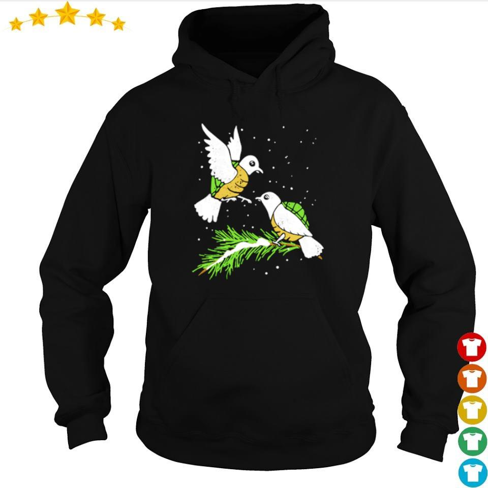 Awesome two turtle doves s hoodie
