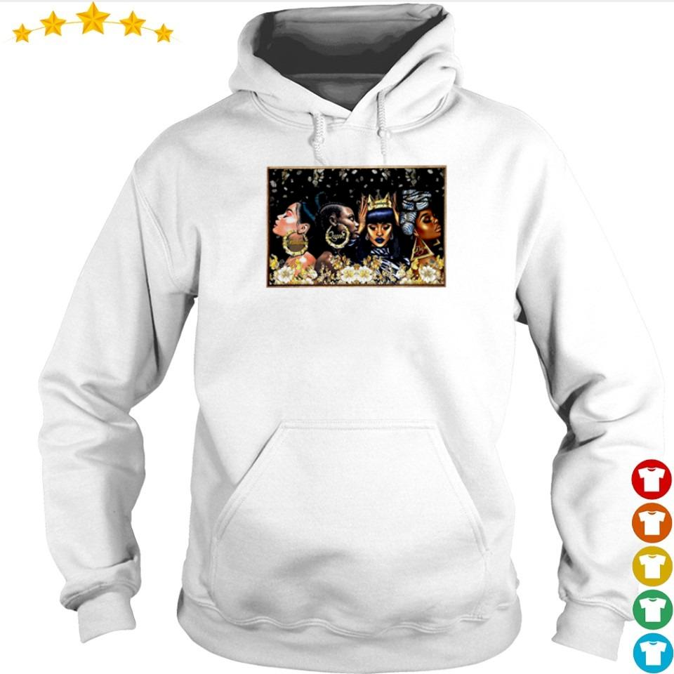 Beautiful black woman melanin queen dope s hoodie