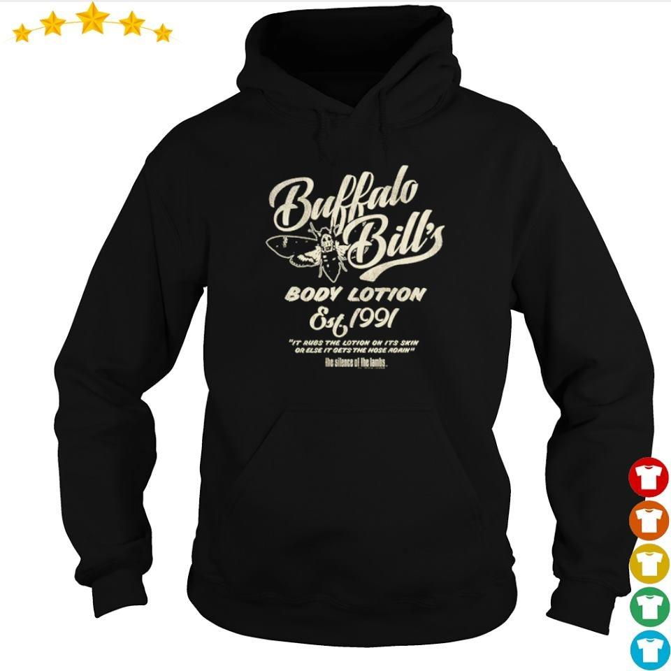 Buffalo Bill's body lotion silence of the lambs s hoodie