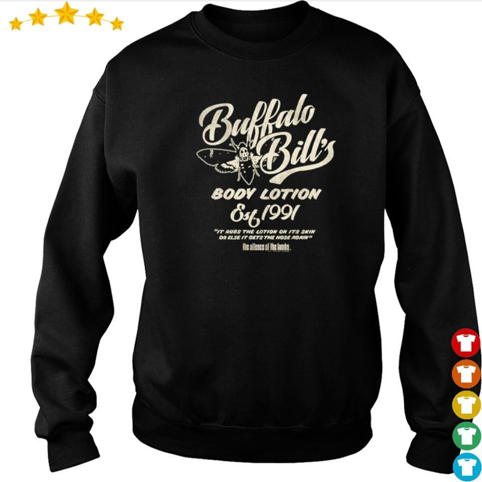 Buffalo Bill's body lotion silence of the lambs s sweater
