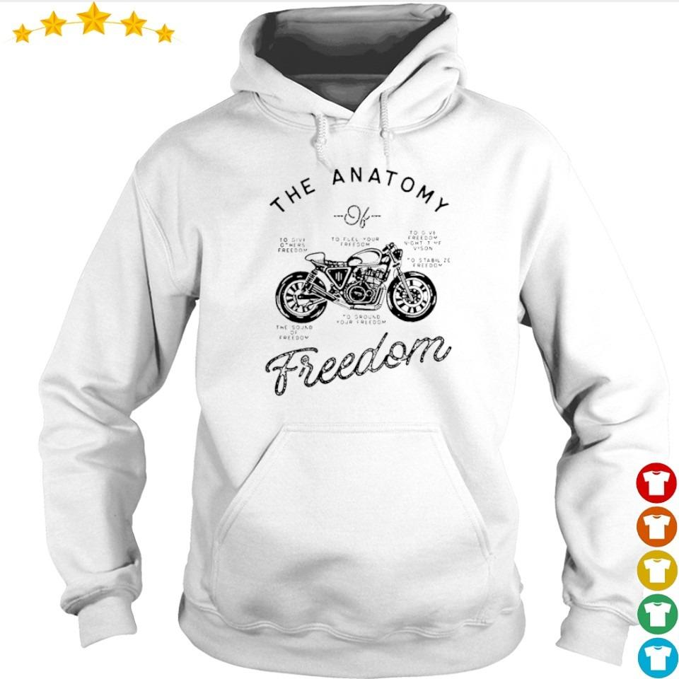 Cafe racer The Anatomy freedom s hoodie