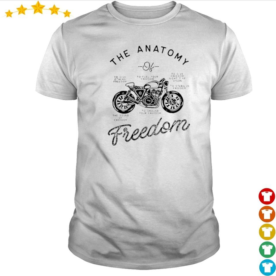Cafe racer The Anatomy freedom shirt