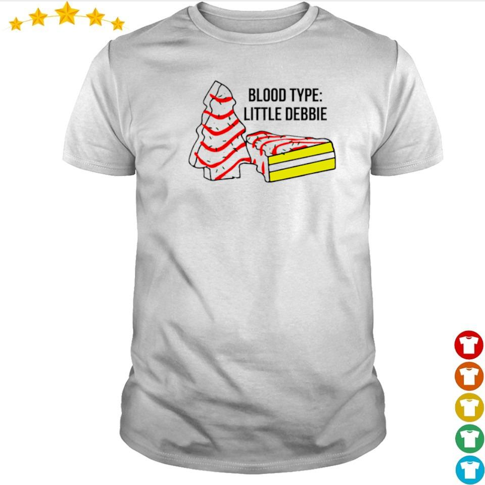 Cake dead blood type little debbie shirt