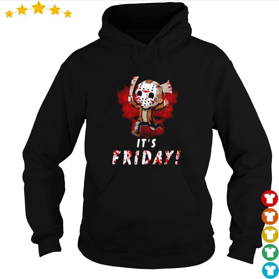 Chibi Jason Voorhees it's friday s hoodie