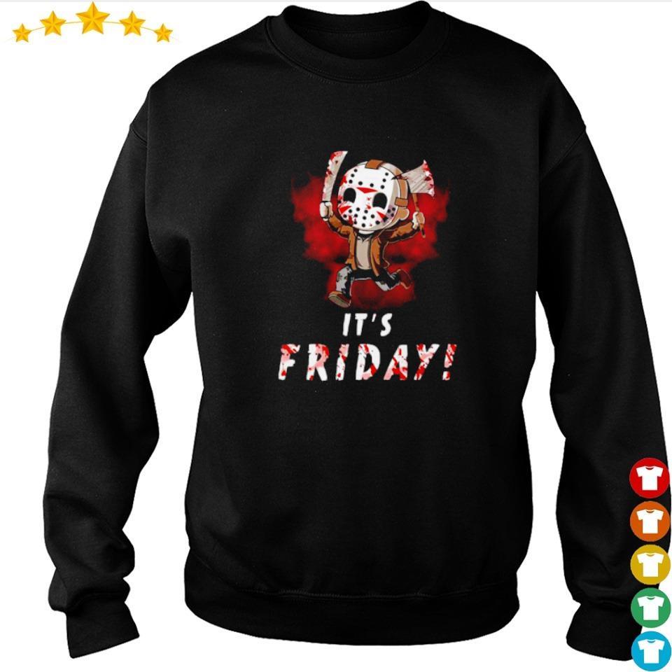 Chibi Jason Voorhees it's friday s sweater