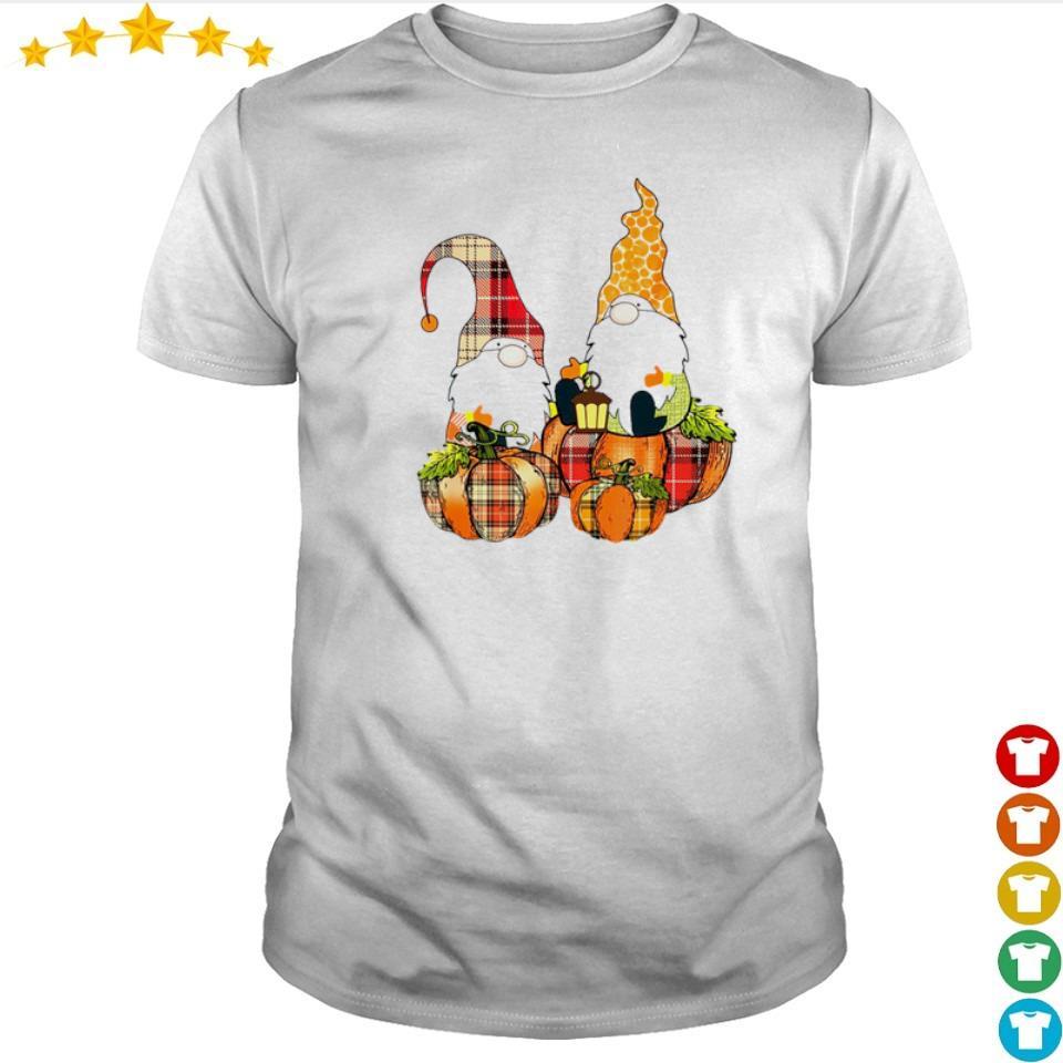 Cute Autumn pumpkin and Gnomes shirt