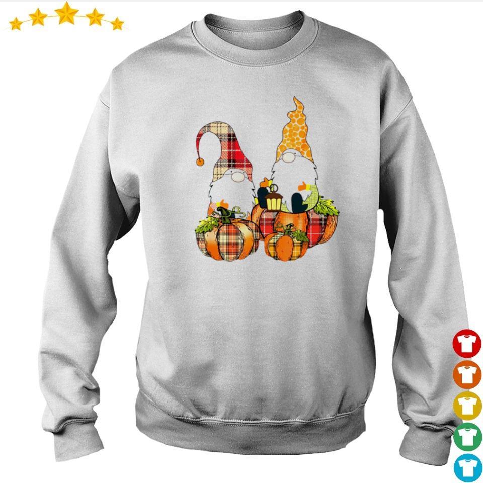 Cute Autumn pumpkin and Gnomes s sweater