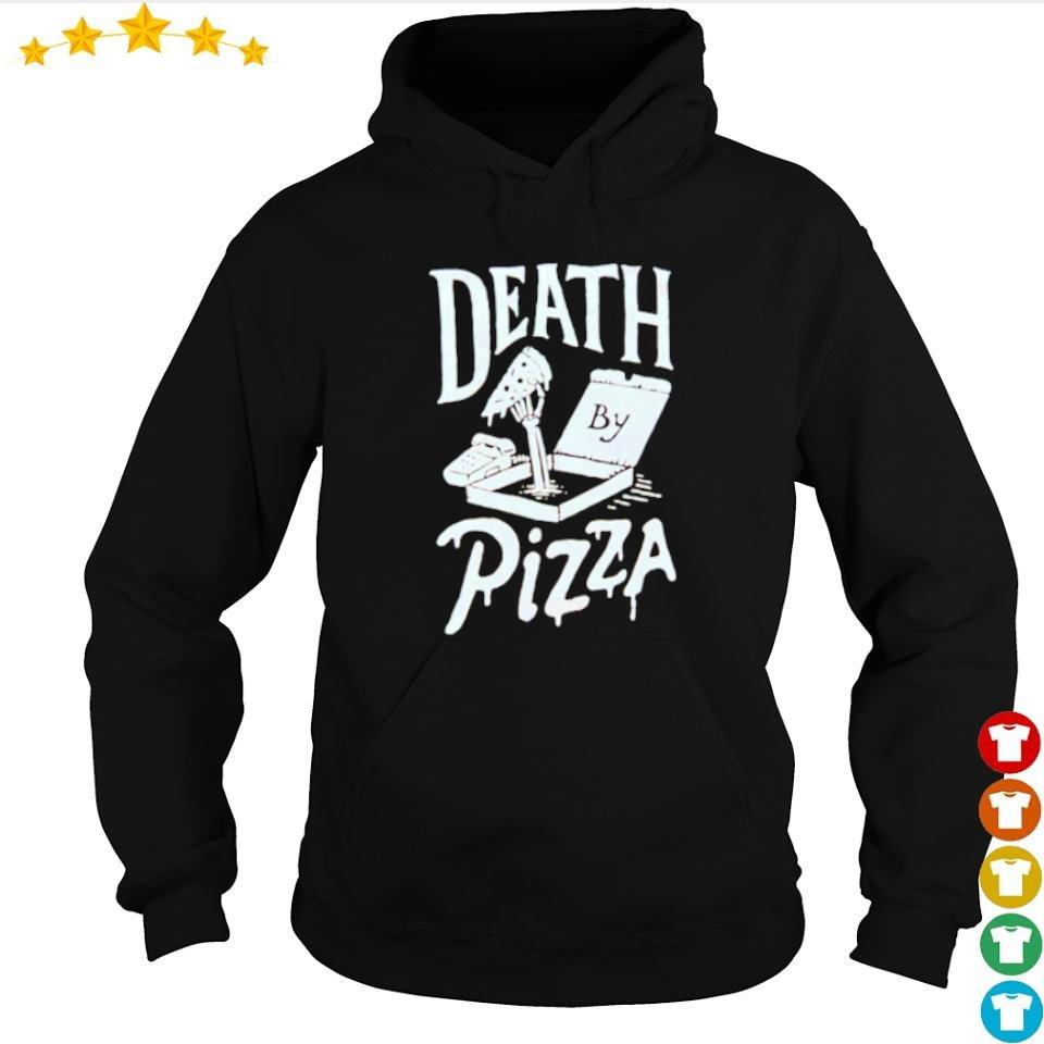 Death by pizza happy Halloween s hoodie
