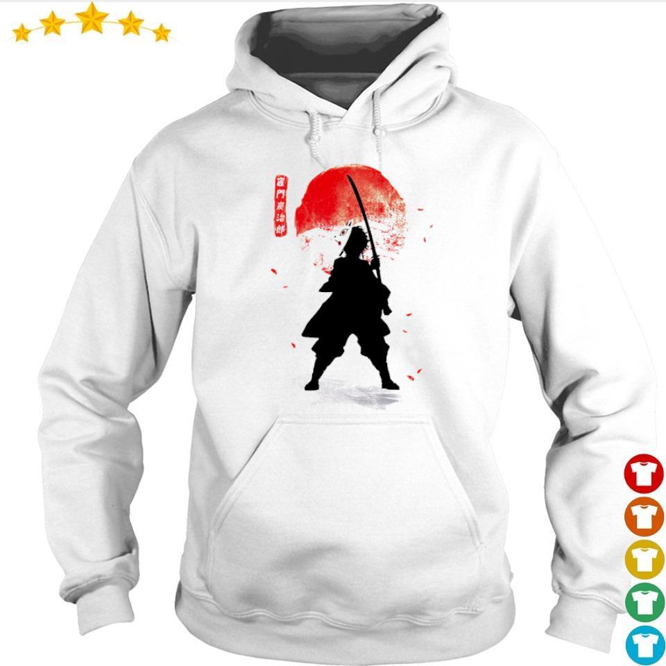 Demon Slayer Tanjiro lower moon s hoodie