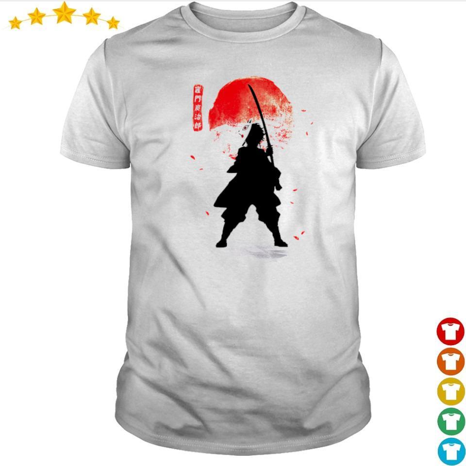 Demon Slayer Tanjiro lower moon shirt