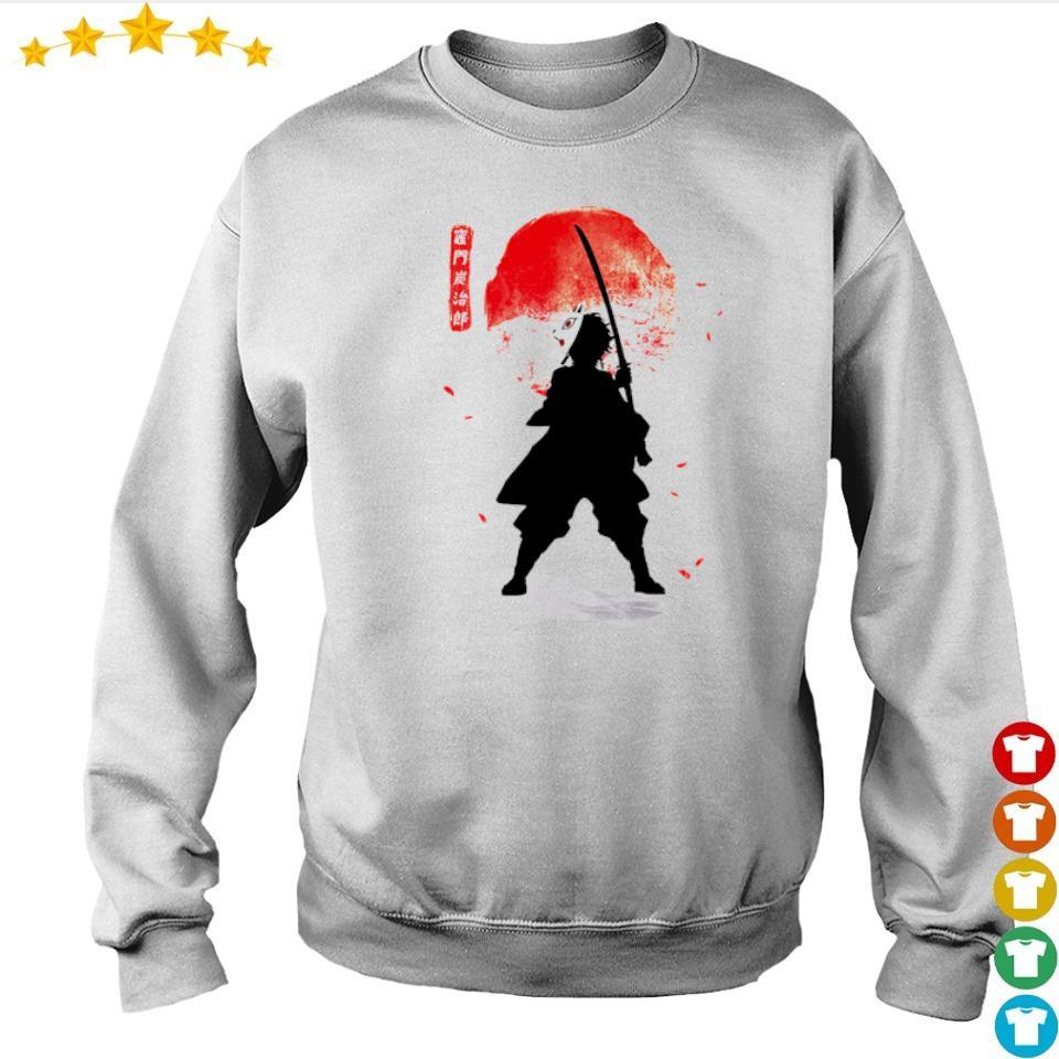 Demon Slayer Tanjiro lower moon s sweater