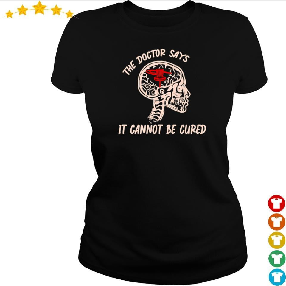 Disc golf the doctor says it cannot be cured s ladies tee