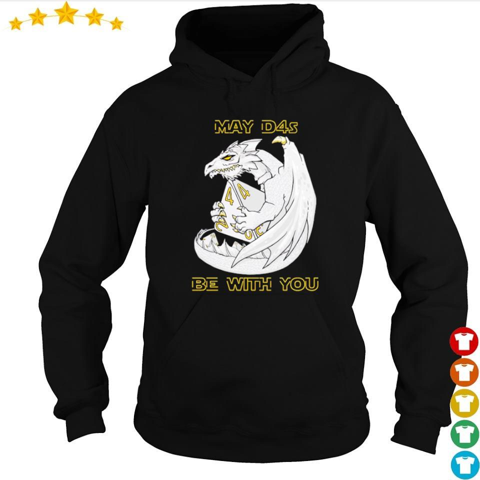 Dragon may d4s be with you s hoodie