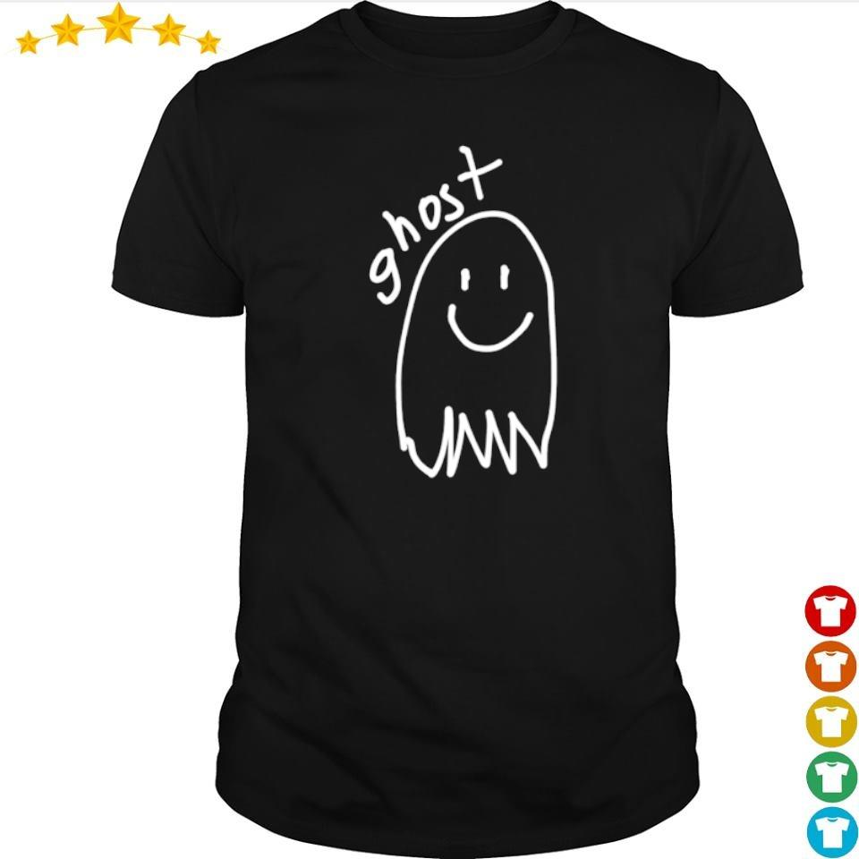 Drawing ghost happy Halloween shirt