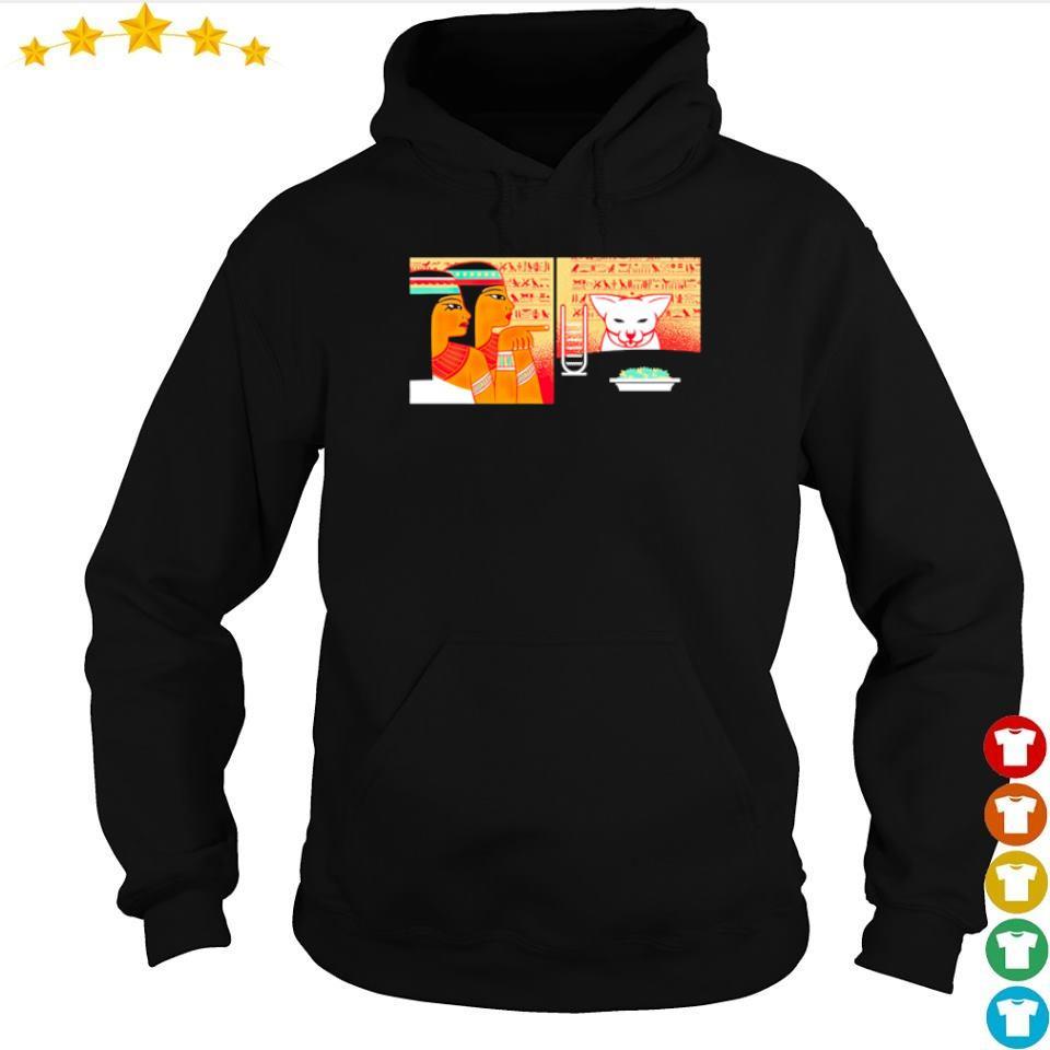 Egyptain yellings at cat s hoodie