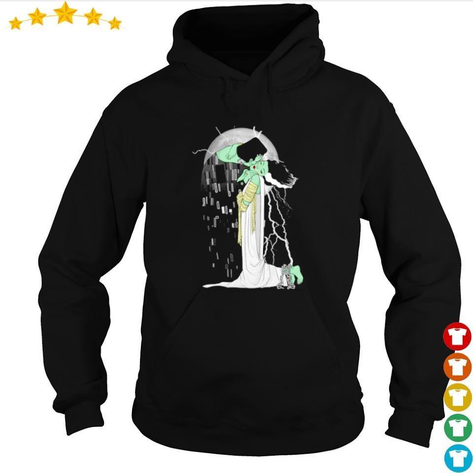 Frankenstein and Bride love beyond dead s hoodie