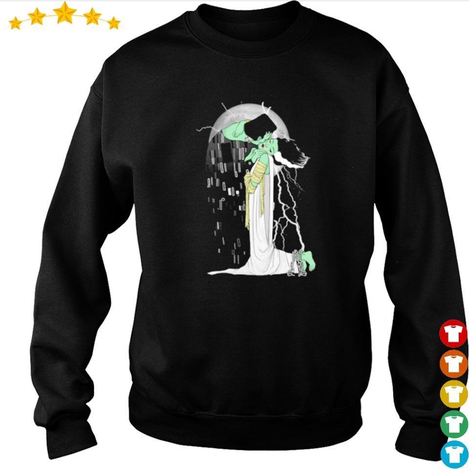 Frankenstein and Bride love beyond dead s sweater