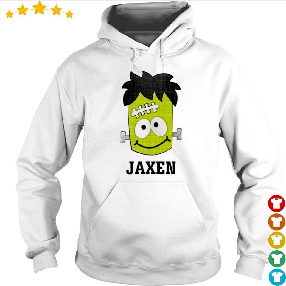 Frankenstein jaxen happy Halloween s hoodie