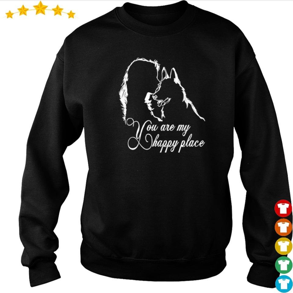German Shepherd you are my happy place s sweater