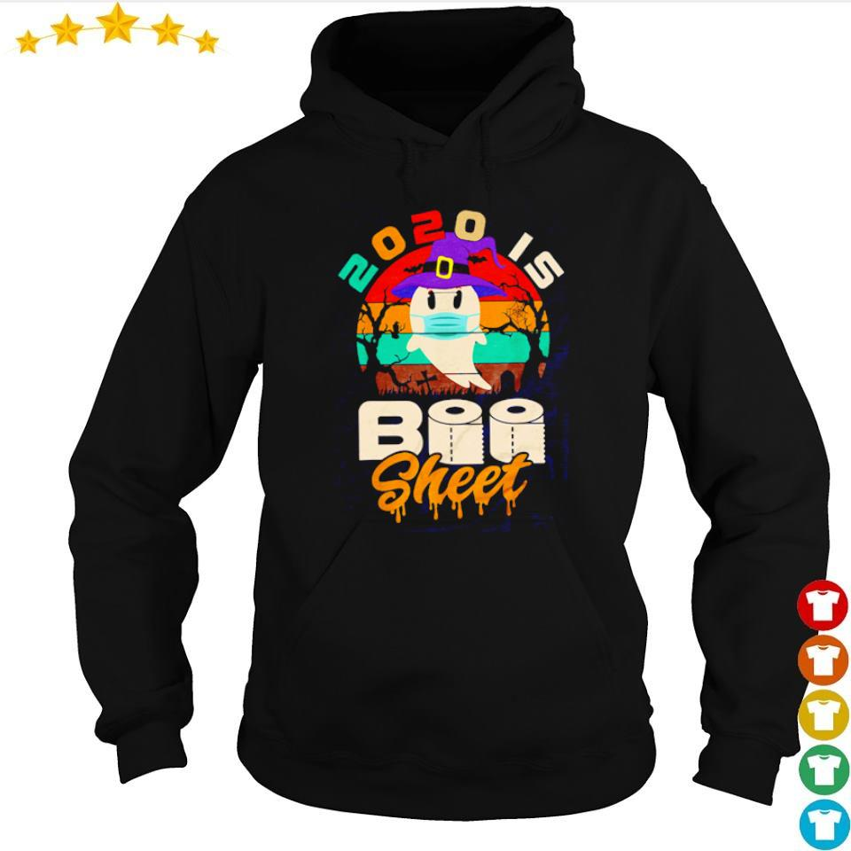 Ghost wearing mask 2020 is boo sheet s hoodie