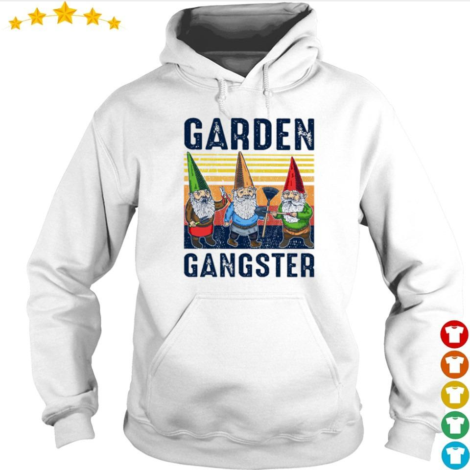 Gnomes garden gangster vintage s hoodie