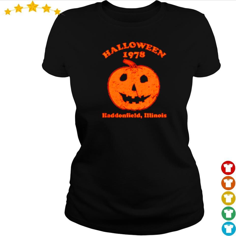 Halloween 1978 haddonfield illinois s ladies tee