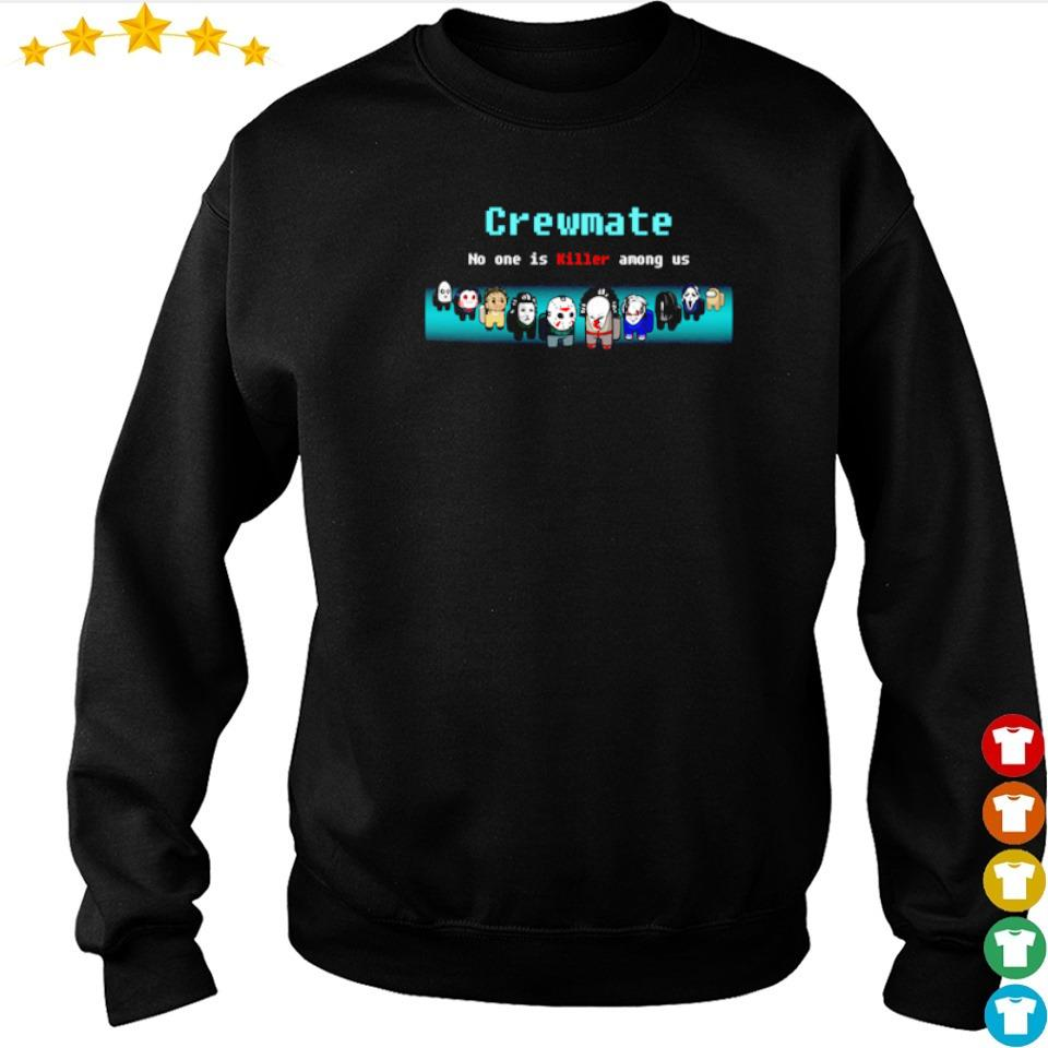 Horror characters crewmate no one is killer among us s sweater