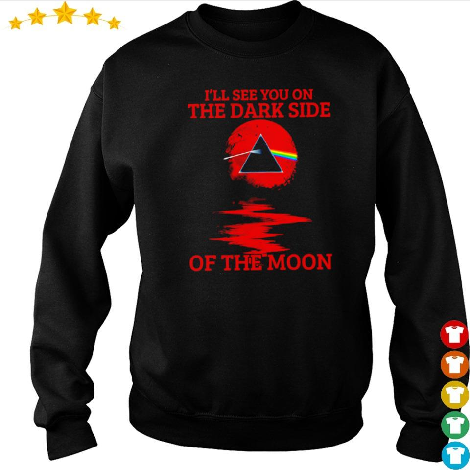 I'll see you on the dark side of the moon s sweater