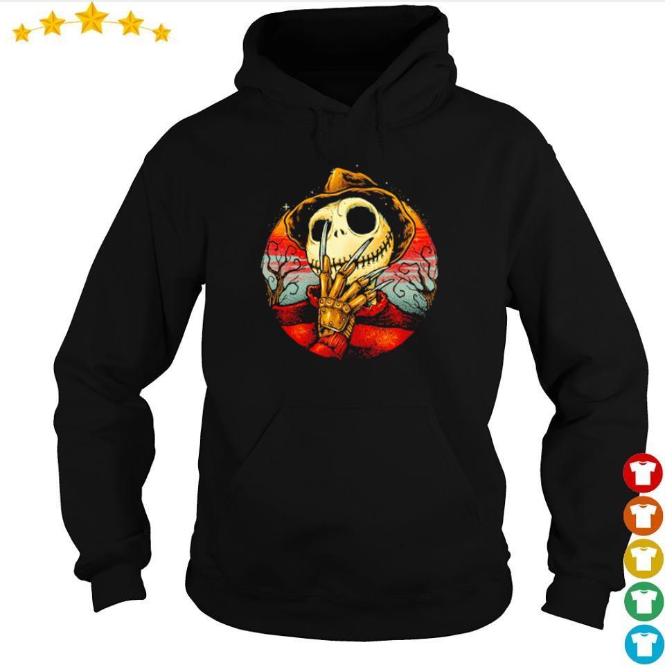 Jack Skellington the Freddy Krueger Halloween s hoodie