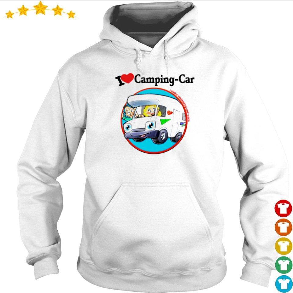 Jaime I love camping car s hoodie