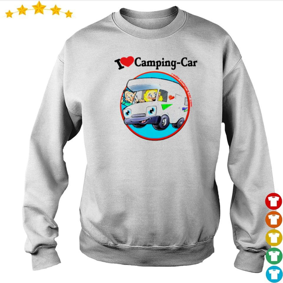 Jaime I love camping car s sweater