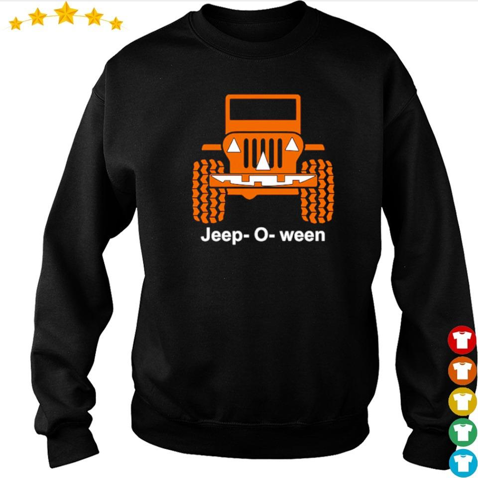 Jeep o ween pumpkin happy Halloween s sweater