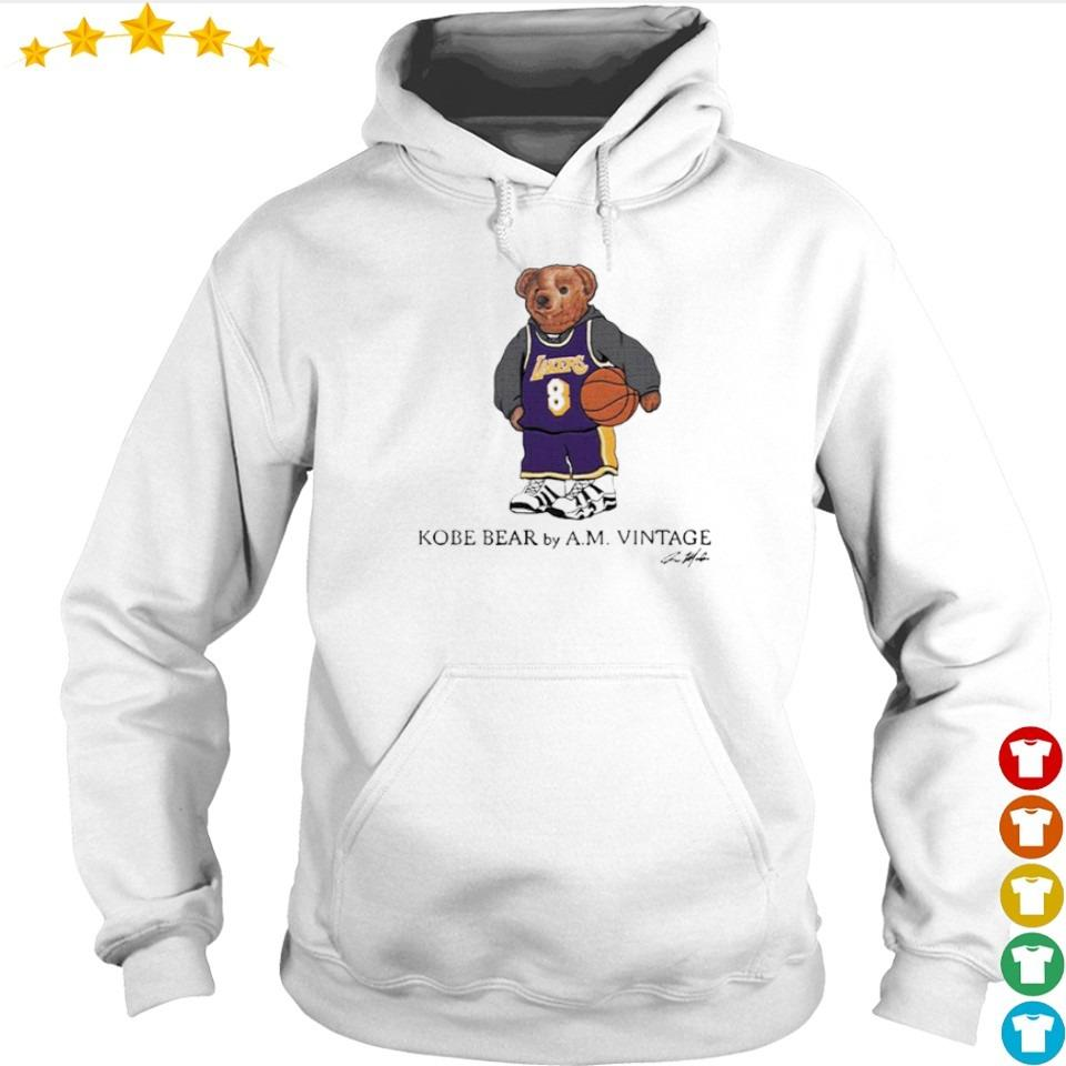 Kobe Bear by AM vintage signature s hoodie