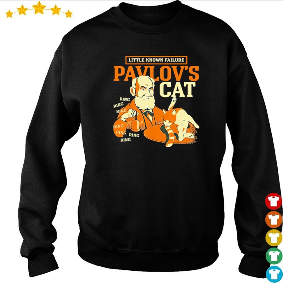 Little known failure Pavlov's cat ring ring ring s sweater