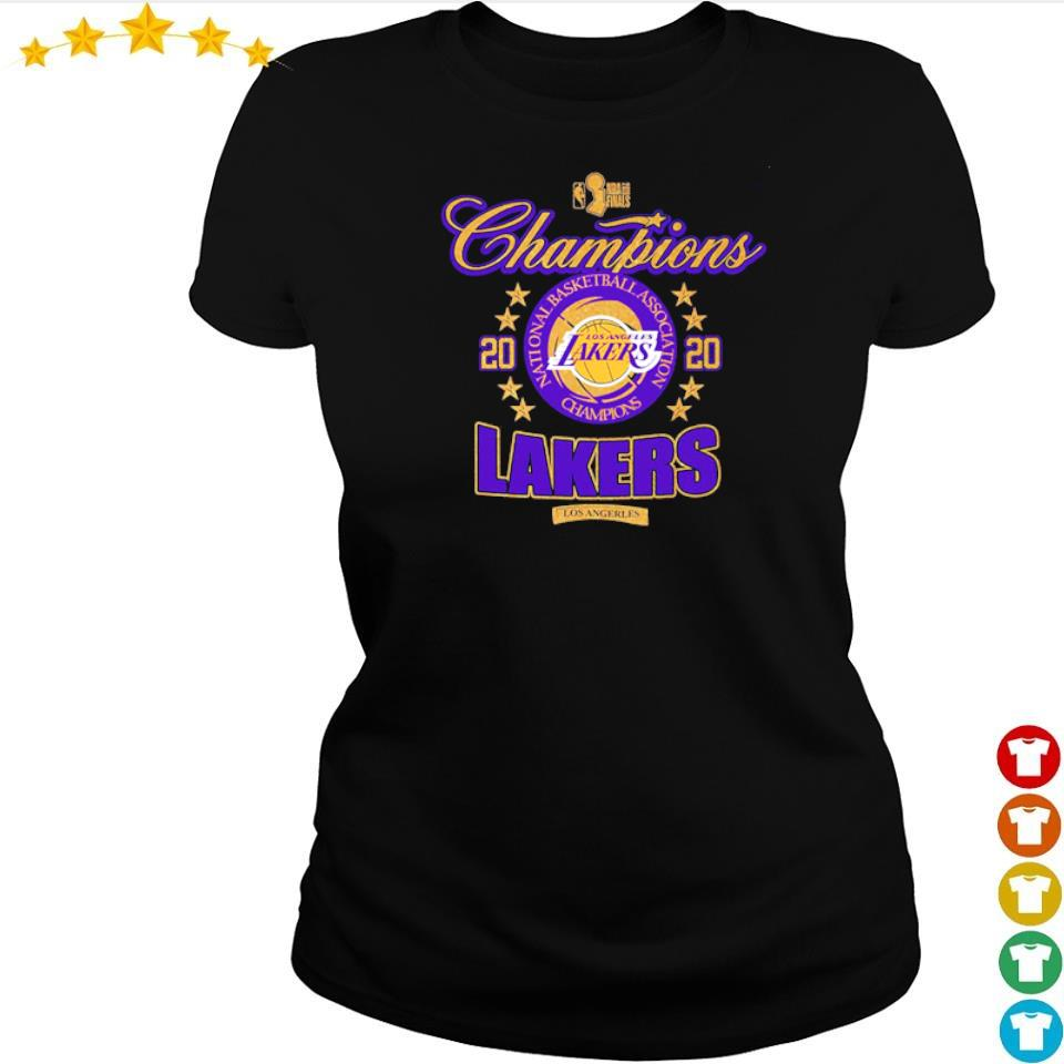 Los Angeles Lakers national basketball association champions 2020 s ladies tee