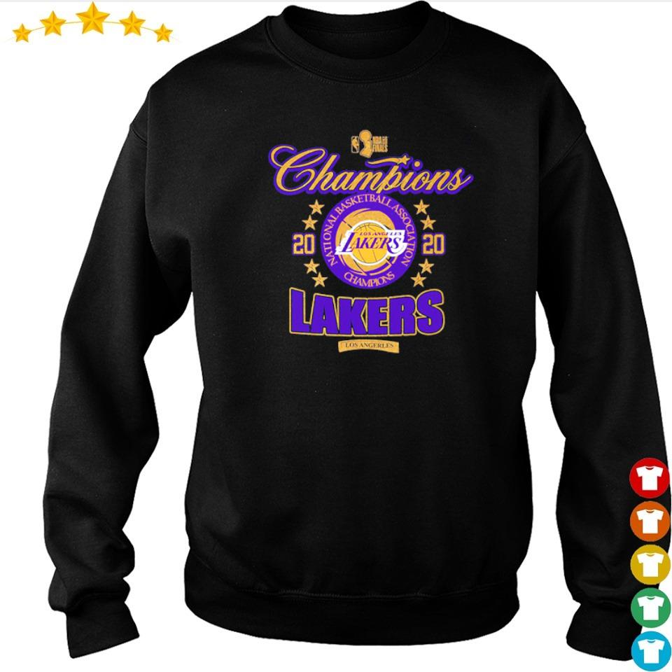 Los Angeles Lakers national basketball association champions 2020 s sweater