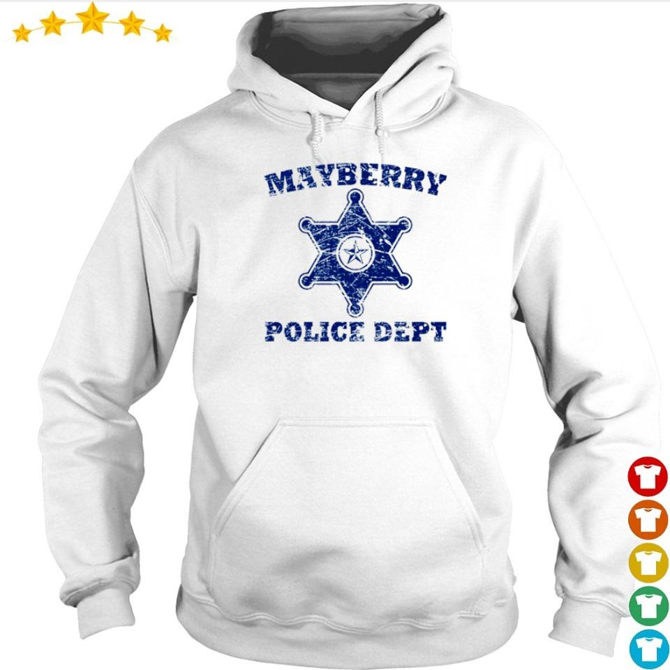 Mayberry police dept s hoodie