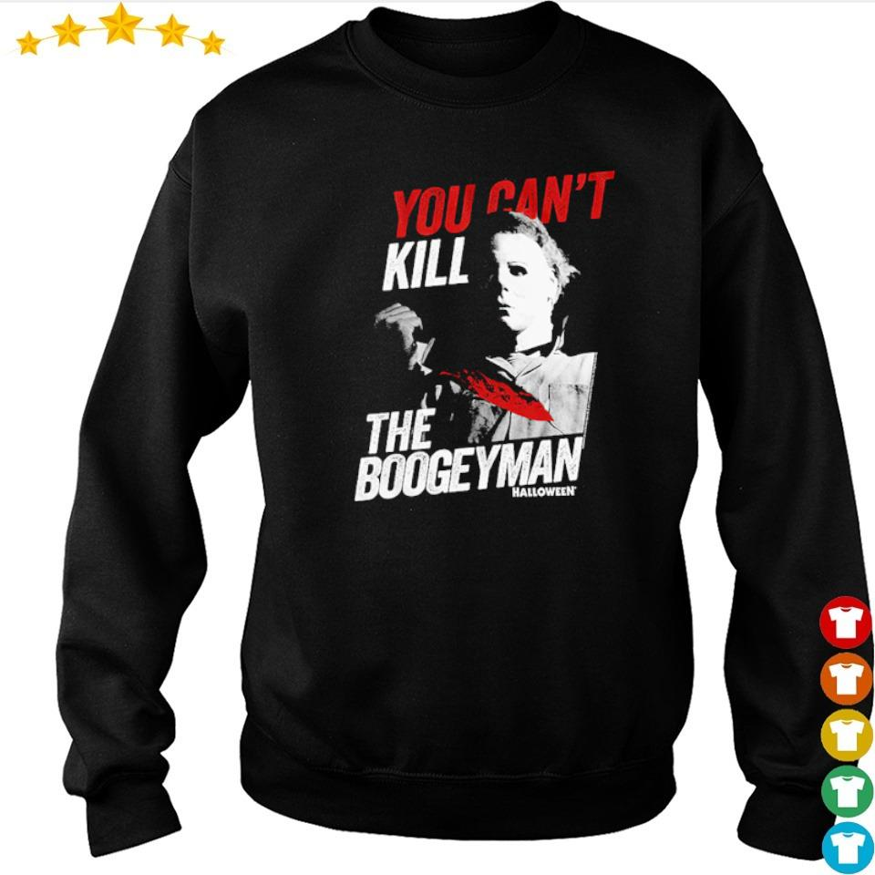 Michael Myers you can't kill the boogeyman s sweater