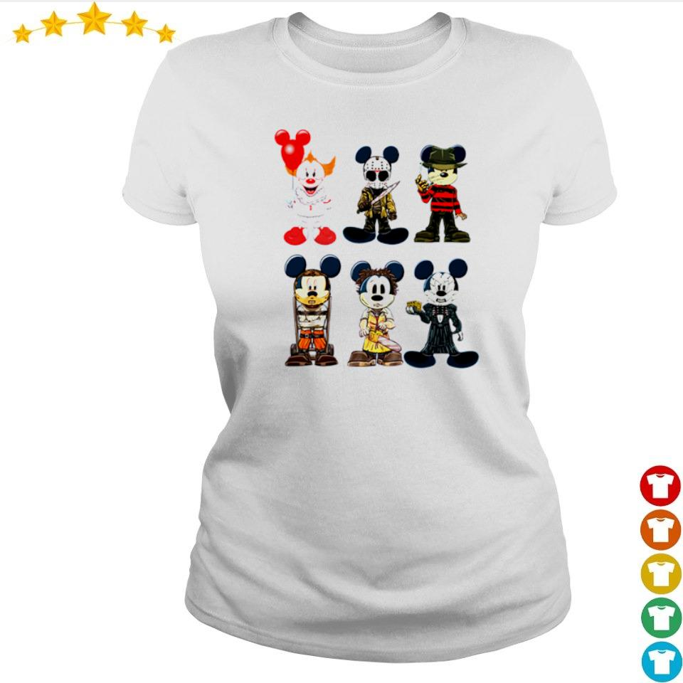 Mickey Mouse in horror characters costume s ladies