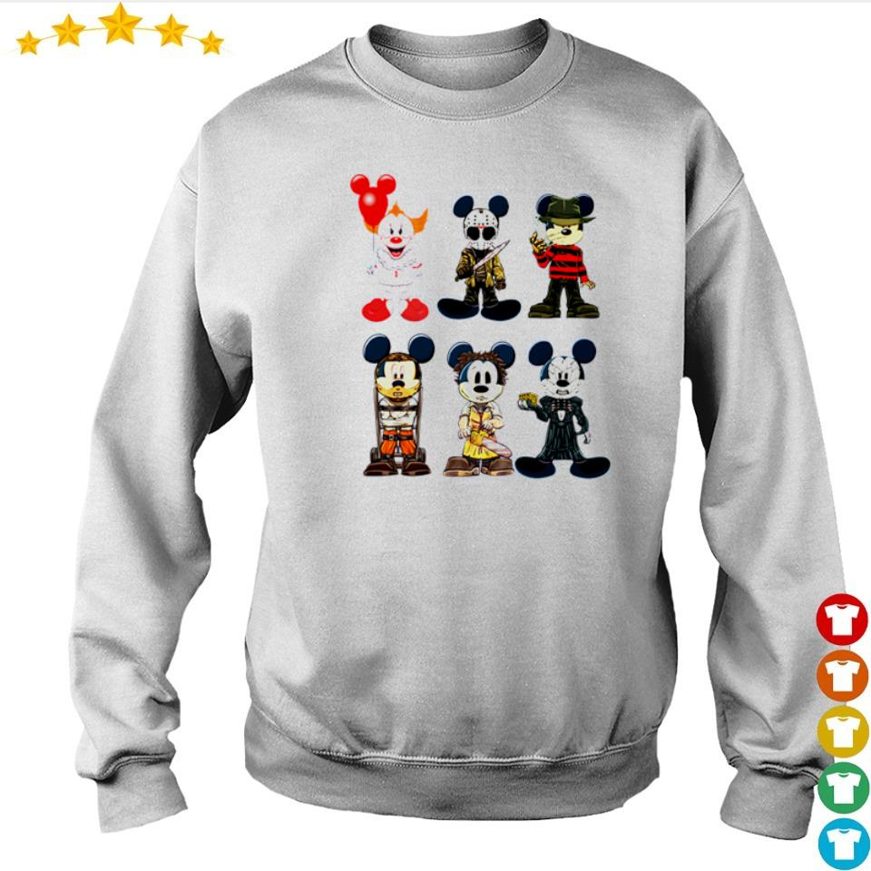 Mickey Mouse in horror characters costume s sweater