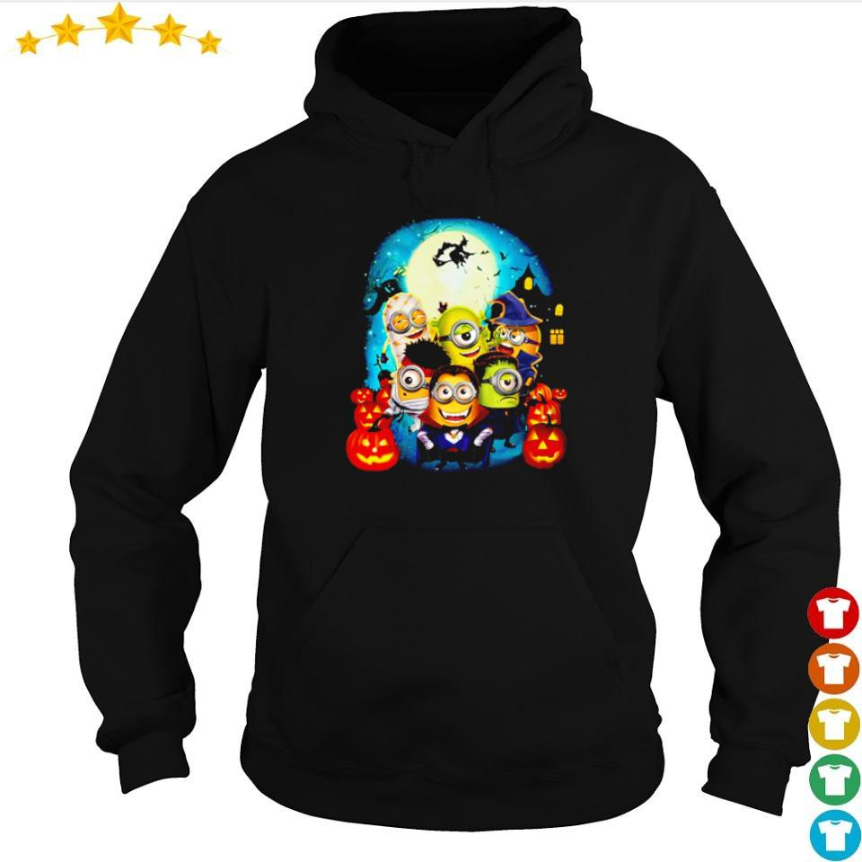 Minions wearing costume happy Halloween s hoodie